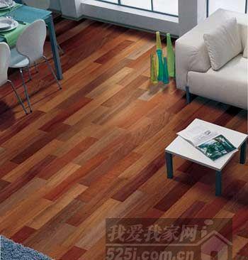 强化木地板铺装方法—悬浮式铺设法