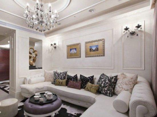 室内装饰 新古典风格中户型公寓 高清图片