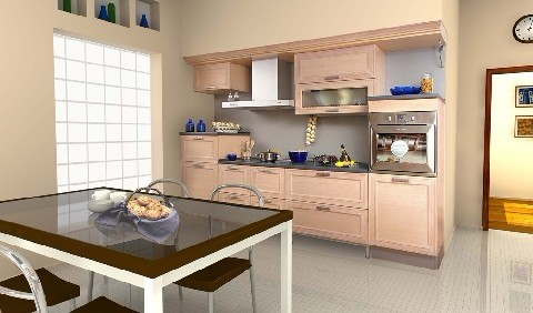 小厨房装修 省钱又好看高清图片