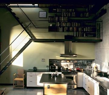 阁楼楼梯 节省空间的创意楼梯设计