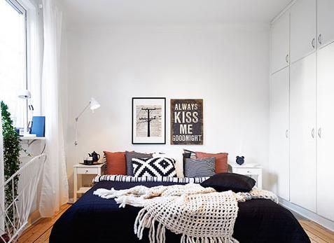靓丽风景伴入梦乡 卧室床头背景墙设计(2)