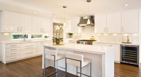 20个欧式厨房装修方案 简约版潮流来袭(3)
