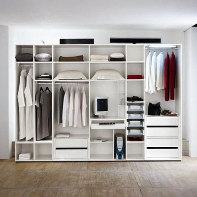 卧室衣柜效果图大全 (2)