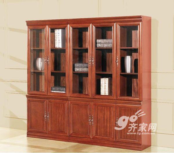 使书柜显得很有立体感
