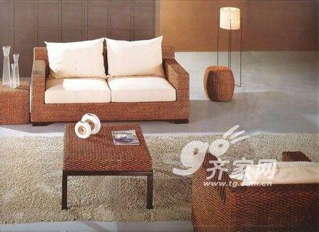 藤竹沙发的选购步骤