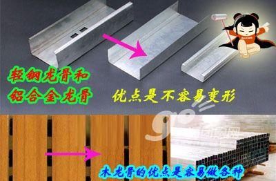 图文详解:石膏板吊顶安装全过程(2)