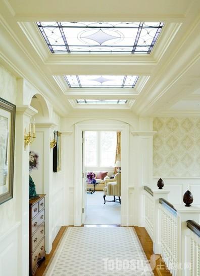 房屋设计 > 【吊顶造型款式】走廊过道吊顶