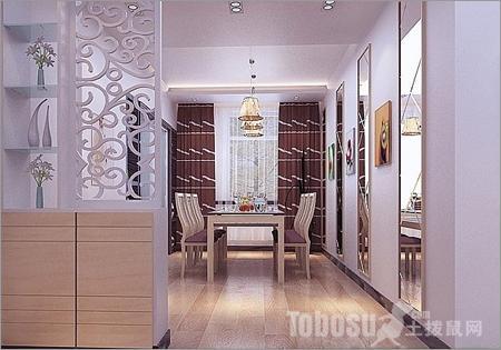 客厅隔断怎样设计