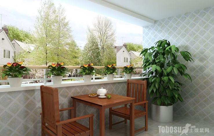 阳台瓷砖 装修效果图图片