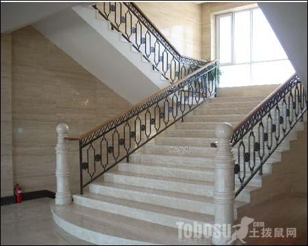 铁艺楼梯扶手图片