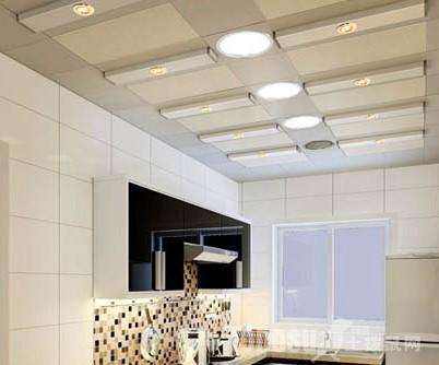 厨房卫生间吊顶效果图