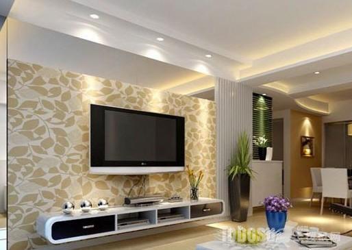 让简单的影视墙设计,显得优雅大方!图片