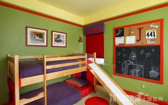 小户型儿童房设计 高清图片