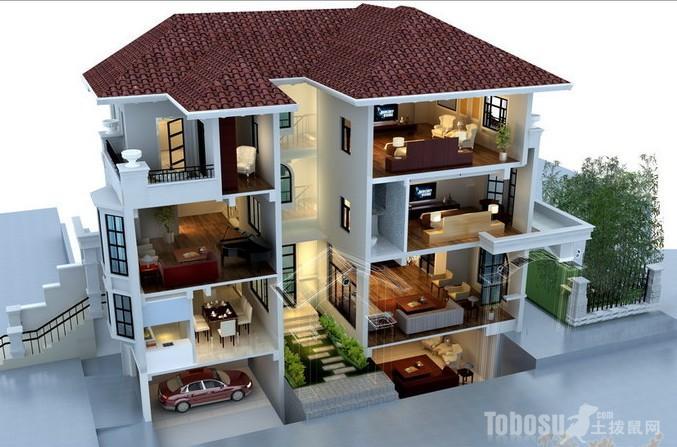 农村装修房子效果图_外墙瓷砖装修效果图享受高品质家居装修