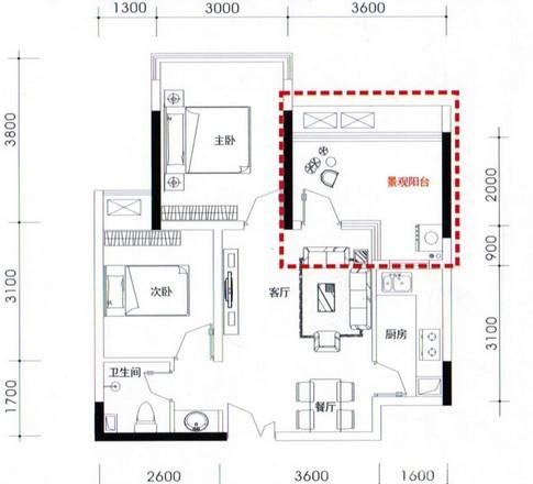 80平米两室一厅半包装修预算费用清单