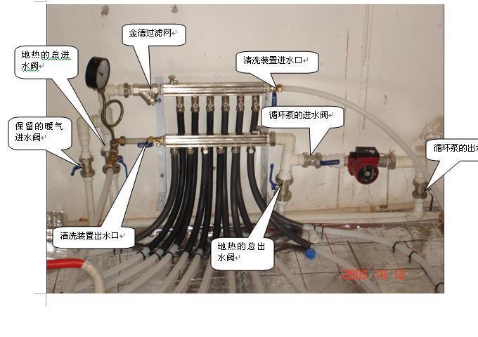 自制地暖脉冲清洗机电路图
