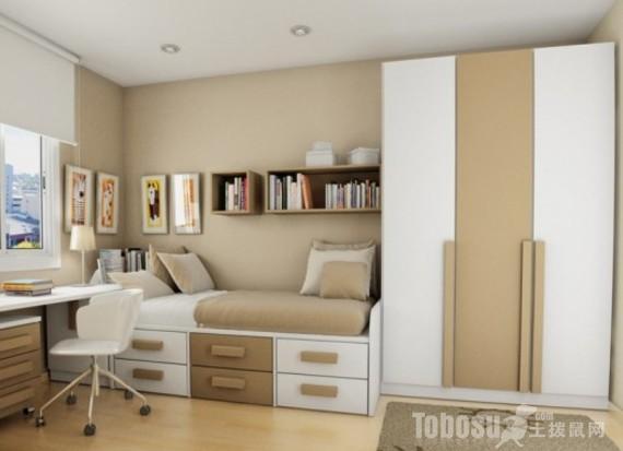 青少年的小房间装修 小房间装修图片图片