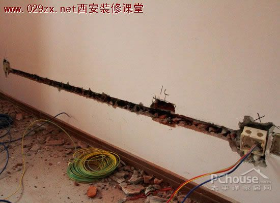 装修电路改造施工注意事项