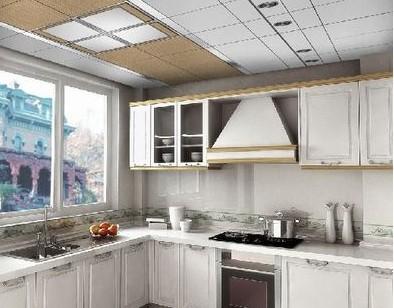 厨卫装修宜选用铝扣板吊顶