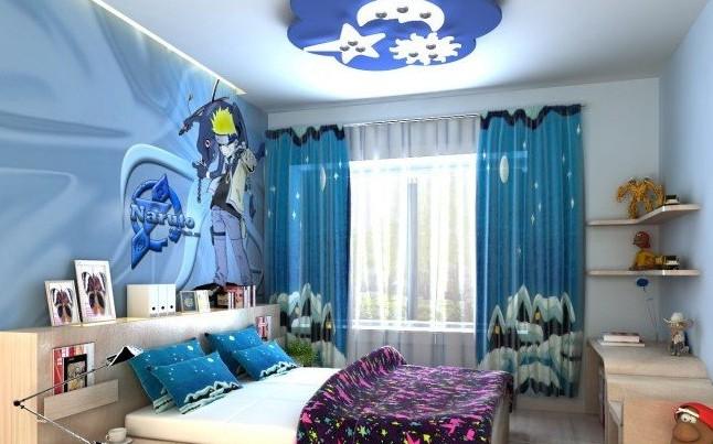儿童房装修 男孩卧室颜色搭配的技巧