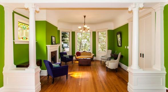家装涂料颜色的搭配效果