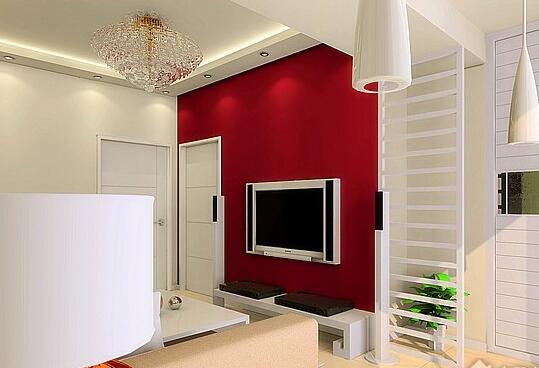 室内装修彩色石膏室内装修图片2