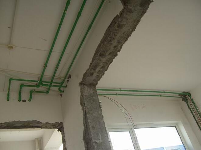 农村房子电路线管
