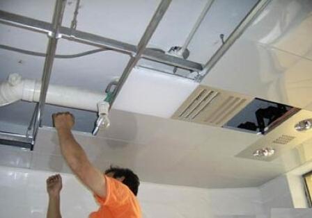 如何安装卫生间集成吊顶