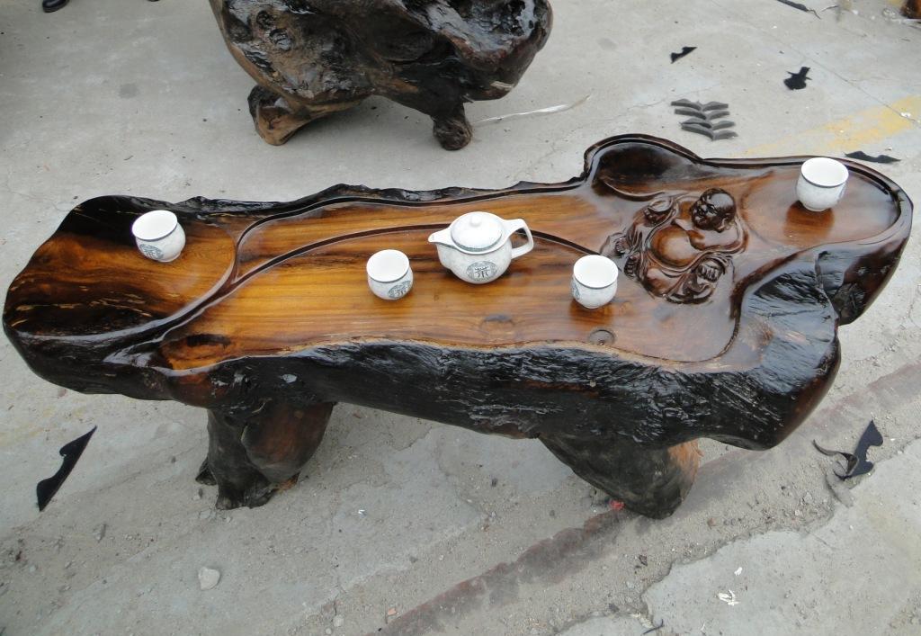 什么是根雕艺术茶几 根雕茶几材质都有哪些