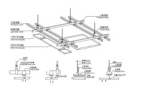 led格栅灯如何安装 安装led格栅灯步骤