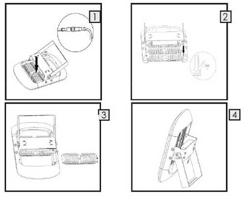 4,在安装过程中led泛光灯接线最好不超过25厘米,变压器功率大的可以