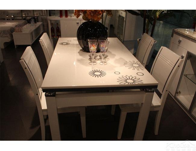 【餐桌评测】欧瑞家具紫罗兰系列餐桌评测美冠家具南京图片