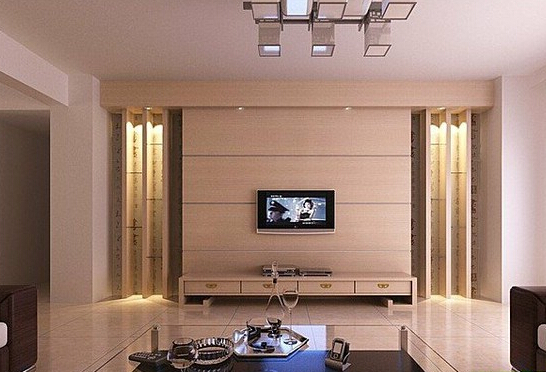 客厅电视墙用什么颜色好看?