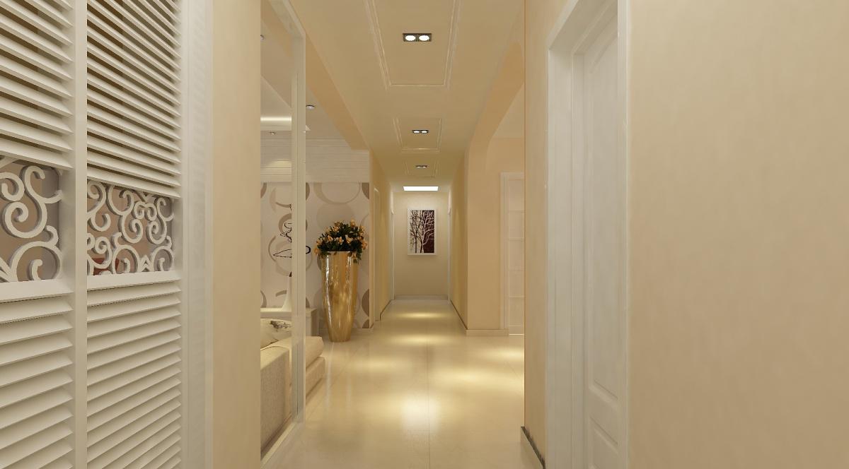 走廊过道鞋柜内部结构