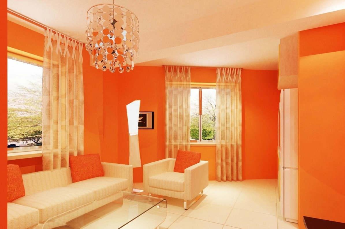 橙色装修搭配知识 装修橙色配什么颜色好看