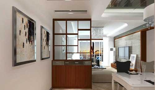 餐厅与客厅酒柜隔断怎么设计
