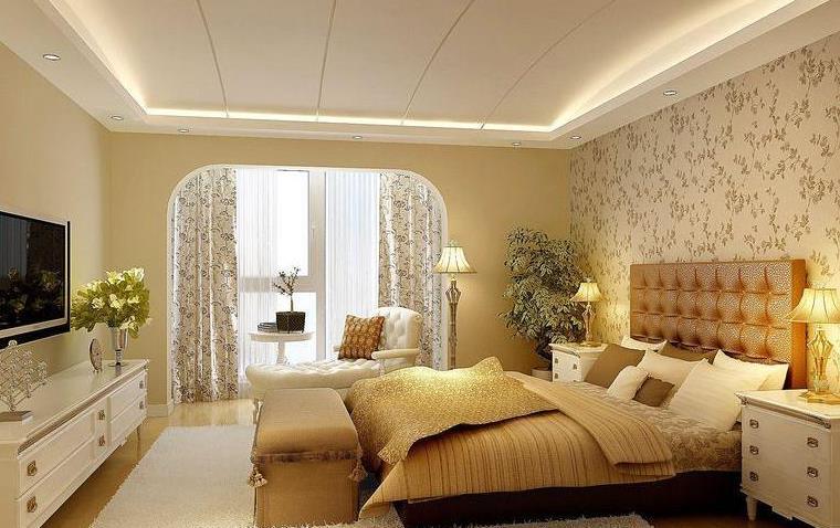 客厅实木护墙背景墙