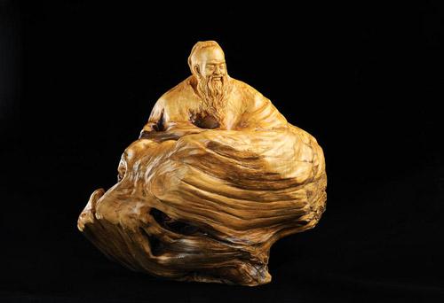 黄杨木雕是一种艺术品也是一种工艺品
