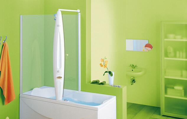 熒光綠衛生間裝修效果圖