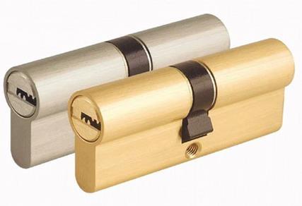 防盗门锁芯的安装方法