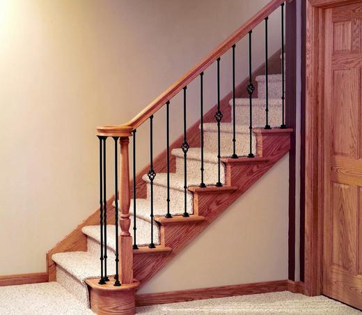 人上楼梯的简笔画