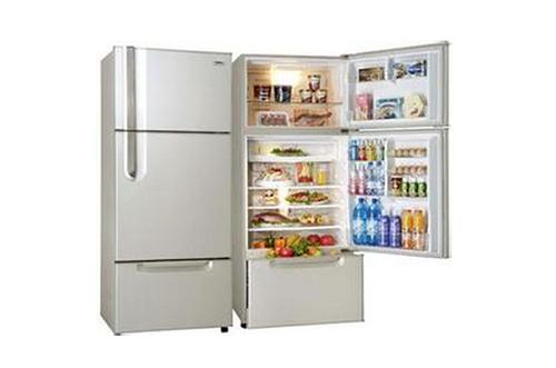 半导体式电冰箱:它是利用半导体材料产生珀尔占效应进行工作的,即用p