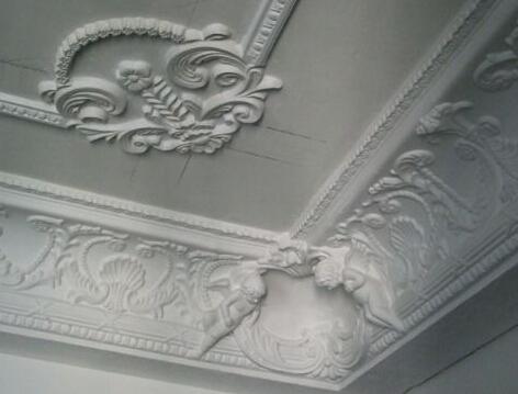 装修知识 泥瓦工程  一般石膏线装饰产品图案花纹的凹凸应在10mm以上