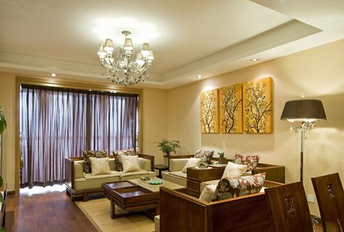 根据客厅的各种用途,需要安装以下几种灯光
