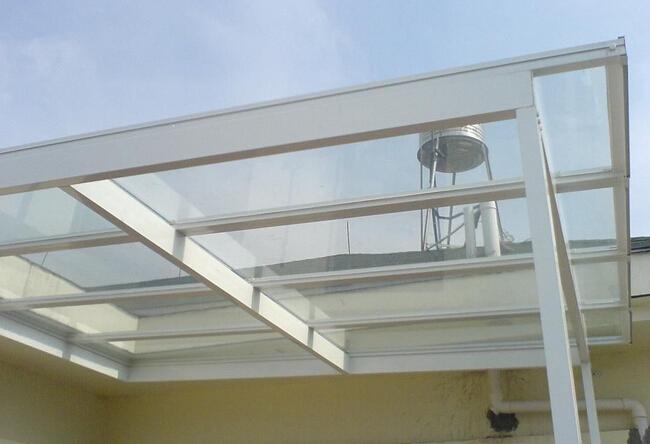 玻璃顶安装图解