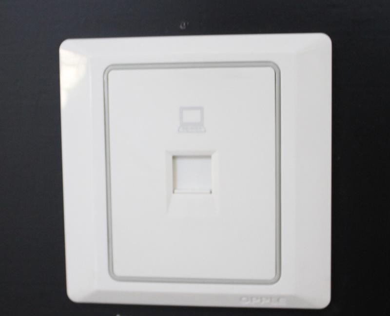 欧普 致美系列 网线插座