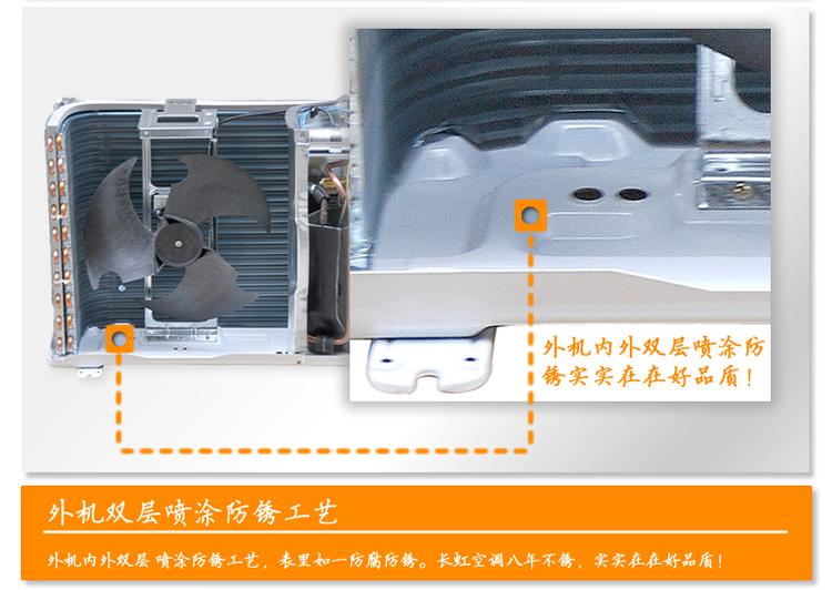 长虹空调室内机拆卸图解