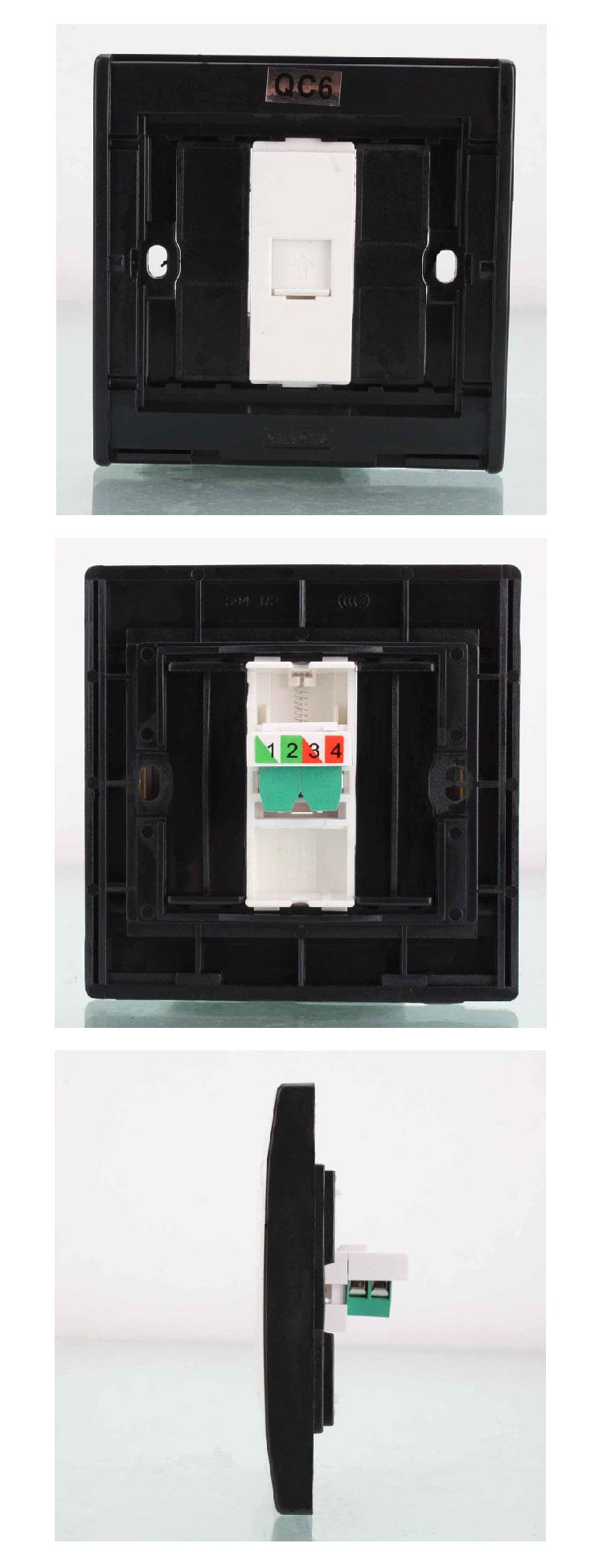 0-电话插座面板-奶
