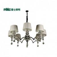 雷士照明 雷士简约欧式 客厅卧室 餐厅 水晶吊灯EFD900