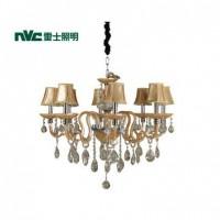 雷士照明 雷士现代奢华蜡烛水晶吊灯 吊灯 EFD9006灯具